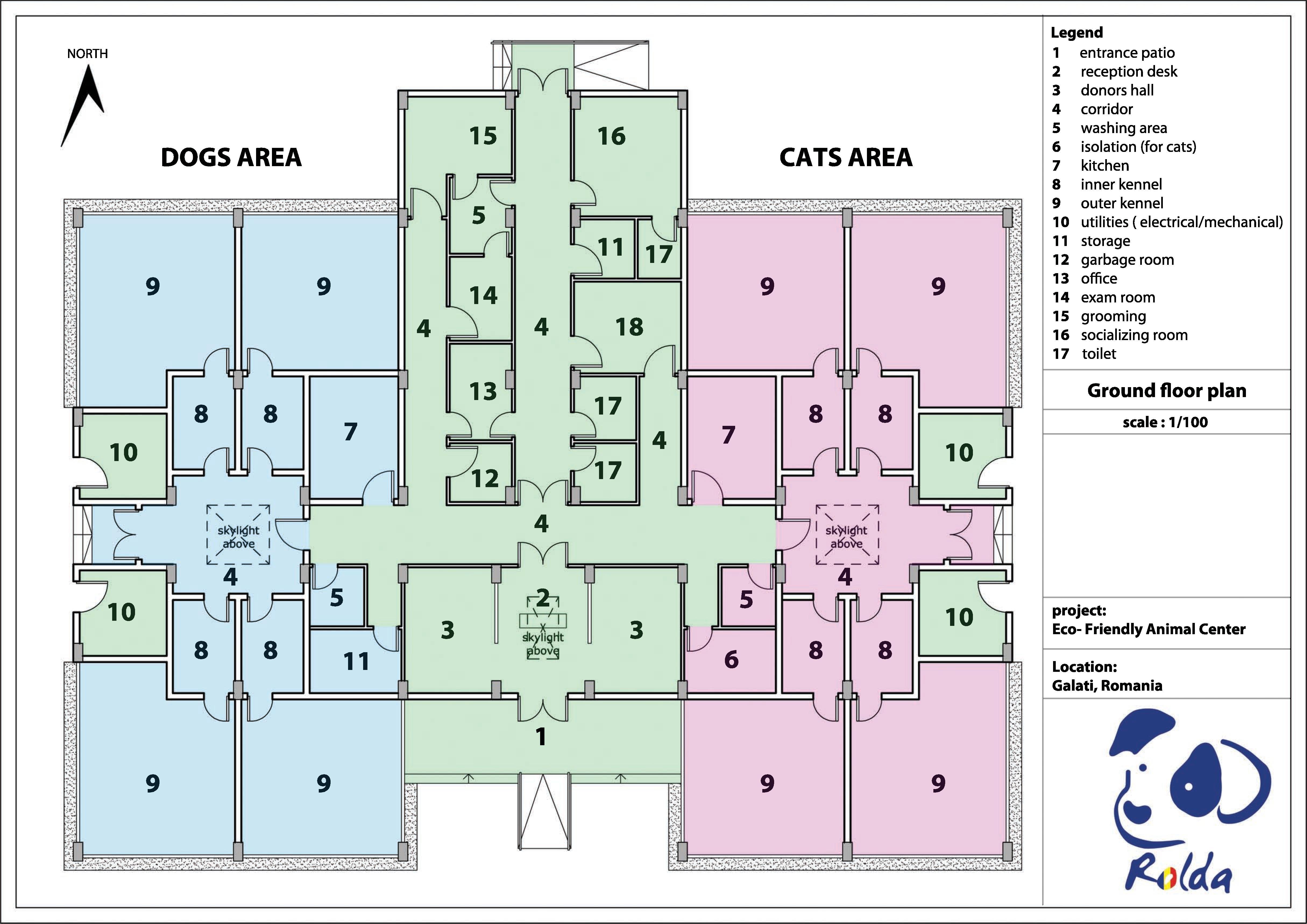 Rolda shelter plan