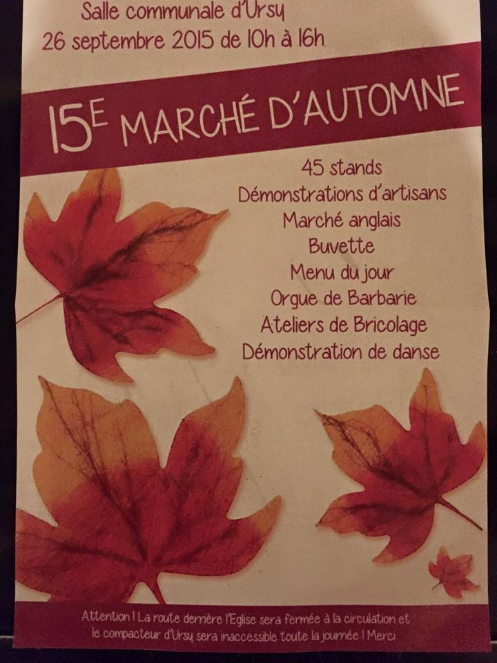 Marche d'Automne Ursy